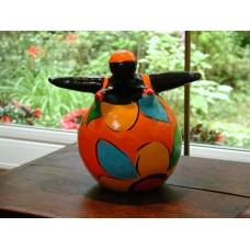 Josta Small Orange&Black