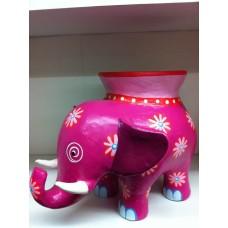 Elephant 21 cm Pink