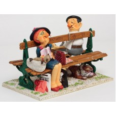 """Guillermo Forchino """"The Paris Bench"""""""