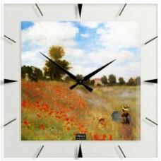 """Claude Monet - Klok """"Veld met klaprozen"""""""