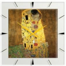 """Gustav Klimt - Klok """"De Kus """""""
