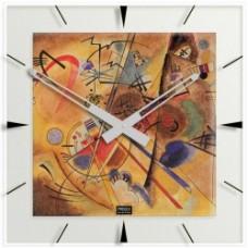 """Kandinsky - Klok """"Kleiner Traum in Rot"""""""