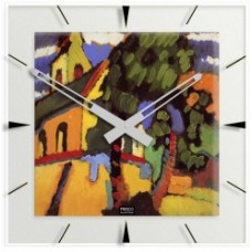 """Kandinsky - Klok """"Riegsee-Dorfkirche"""""""