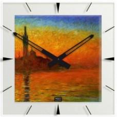 """Monet - Klok """"Avondstemming Venetie"""""""