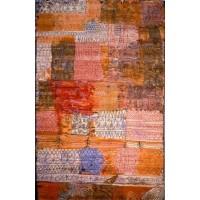 Paul Klee Vloerkleed 183x275 cm. - Florentinisches Villenviertel