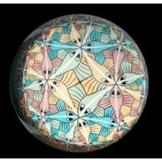 Presse Papier Escher Circle Limit III