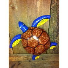 Raimundo Sculpture Turtle Brown