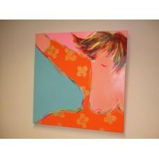 """Schilderij van Trijnie Wubbolt """"Ik wil je blij maken"""""""