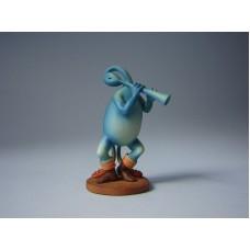 Sculptuur Blauwe Fluitvogel