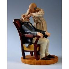 Sculptuur Daumier - Dentiste.