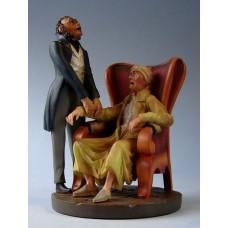 Sculptuur Daumier - Docteur