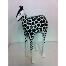 Sculptuur Giraffe middel B&W