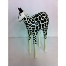 Sculptuur Giraffe small B&W