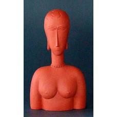 Sculptuur Grand buste rouge