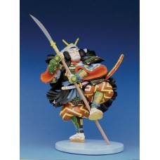 Sculptuur Kabuki: Ichikawa Kodanji IV