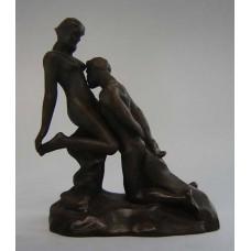 Sculptuur L'Idolle Eternelle van Rodin