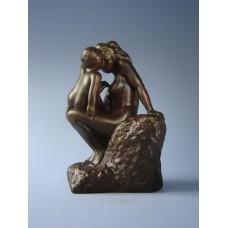Sculptuur La Jeune Mere van Rodin