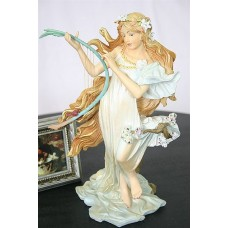 Sculptuur Mucha Lente