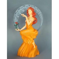 Sculptuur Mucha Studie voor De Schilderkunst