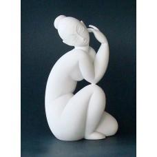 Sculptuur Nu féminin assis