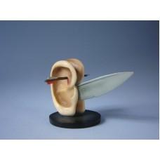 Sculptuur Oren met mes
