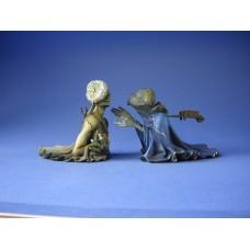 Sculptuur Tristan en Isolde