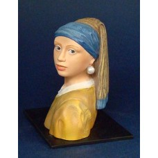 Sculptuur Vermeer - The Girl with the pearl earring
