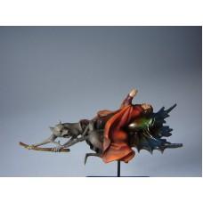 Sculptuur Vliegende Monnik