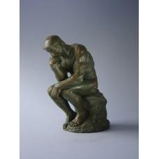 Sculptuur de Denker van Rodin groot
