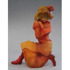 Sculptuur van Egon Schiele.