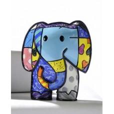 Verzamelbeeldje Romero Britto # 1 - Elephant Lucky