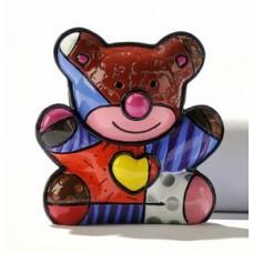 Verzamelbeeldje Romero Britto # 9 - Bear Love Bear.