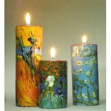 Waxinelichthouder Van Gogh set van 3