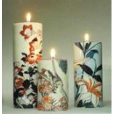Waxinelichthouder Hokusai set van 3