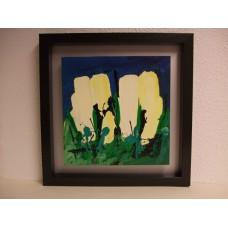 """Schilderij Ad van Hassel """"Witte tulpen"""""""