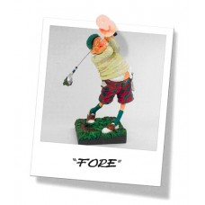 "Guillermo Forchino ""Golfer - FORE !"" Small"