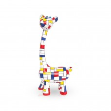 Mia Coppola - Standing Giraffe Mondriaan.