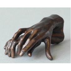 Sculptuur Twee Handen van Rodin.