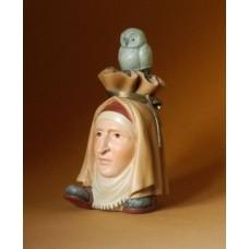 Sculptuur Kopvoeter met Uil