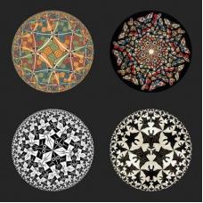 Escher Onderzetters - Circles
