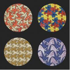 Escher Onderzetters - Symmetry