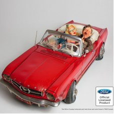 "Guillermo Forchino ""'65 Ford Mustang Convertible"" Large 67cm."