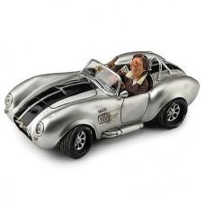 """Guillermo Forchino """"Shelby Cobra 427 SC Silver"""" Small"""