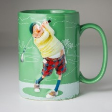 "Guillermo Forchino ""Mug The Golfplayer"""