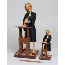 "Guillermo Forchino ""Lady Lawyer"" Small"