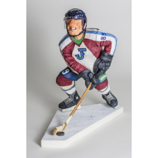 "Guillermo Forchino ""The Ice Hockey Player / le Hockeyeur sur Glace"""