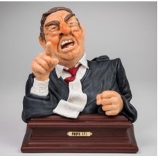 """Guillermo Forchino """"Prove It ! (Lawyer Bust)"""""""
