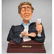"Guillermo Forchino ""The Evidence (Lawyer Bust)"""