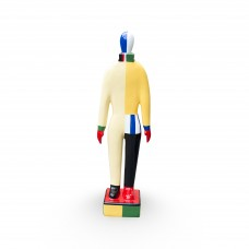 Malevich Russian Dancer small Yellow