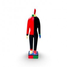 Malevich Russian Dancer extra small Black/Red.